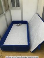 cama con almacimiento debajo
