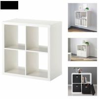 Ikea Kallax Blanco, 4 Estantes unidad exhibición