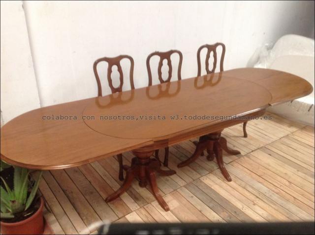 Mesa con sus sillas de segunda mano eivissa - Muebles segunda mano ibiza ...